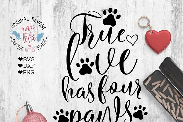 Pet Memorial Paw Prints On My Heart Pre Designed Photoshop Graphics Creative Market