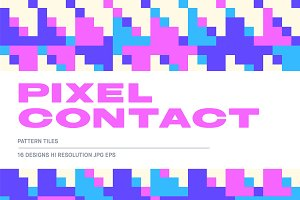 Pixel Contact Patterns