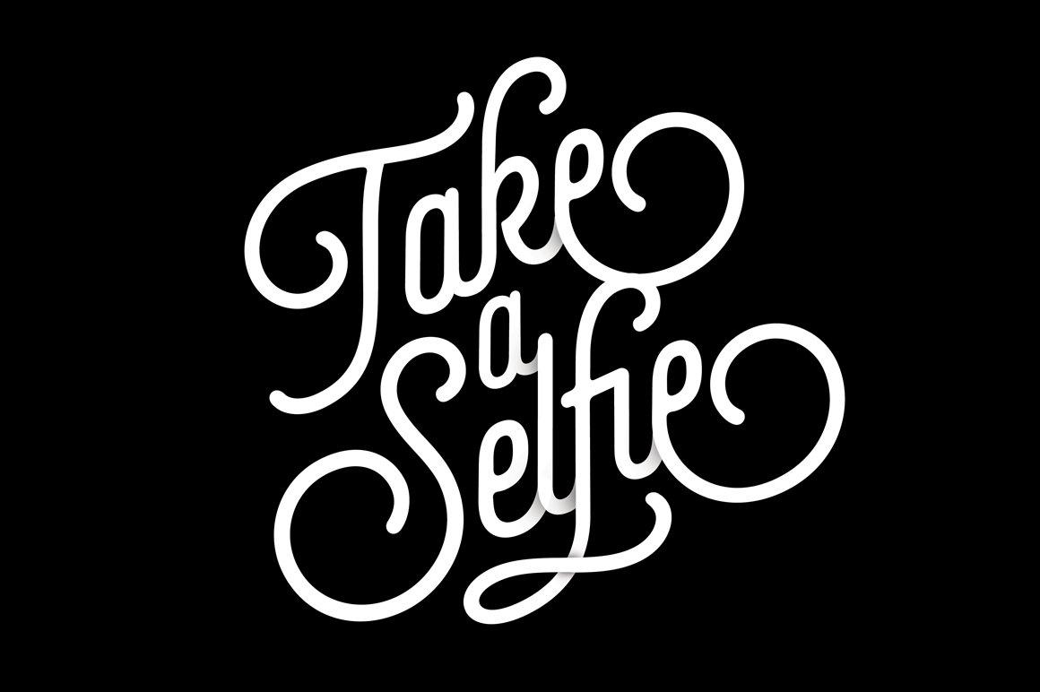 Download Selfie (complete pack) ~ Script Fonts ~ Creative Market