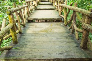 Bridge corridor.