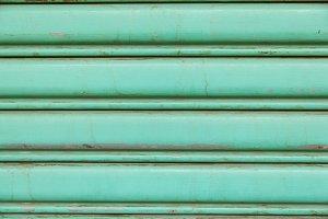 Aluminum wall door.