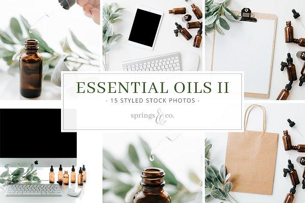 Essential Oils II Stock Photo Bundl…