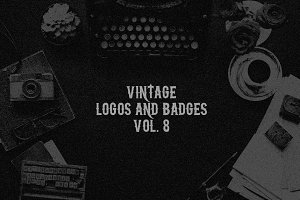 Vintage Logos & Badges vol. 8