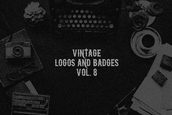 Vintage Logos Badges Vol 8