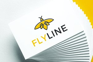 FLYLINE | Logo Template