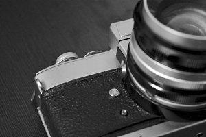 Vintage Camera Closeup