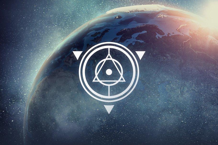 21 sacred geometry vectors objects creative market pro