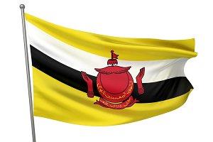 Brunei National Flag