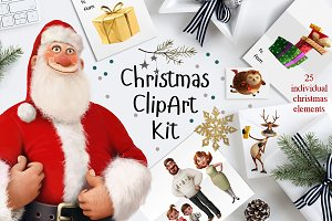 Christmas Clip Art Kit