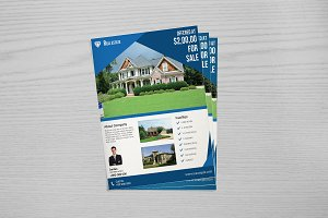 Real Estate Flyer Template V654