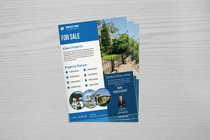 Real Estate Flyer Template V655