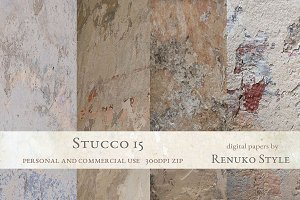 Stucco 15 Photoshop Textures