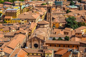 Aerial view of Bologna (hdr)