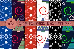 CHRISTMAS seamless patterns pack