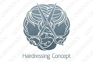 Salon Stylist Hairdresser Concept