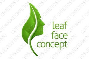 Leaf Face Concept
