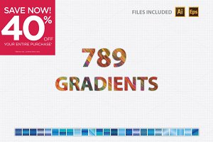 640 + Free (149) Gradients