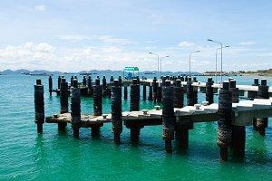 Bridge pier.