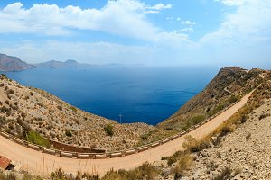 View from Tinoso cape, Spain