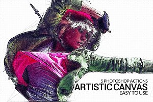 5 Artistic Canvas Actions