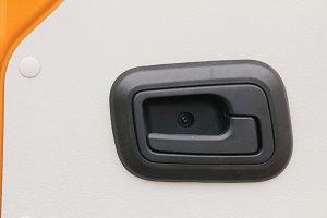 Car door handle - part of truck