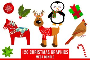 Christmas Clipart Bundle #1