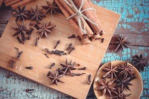 Macro spices # 5