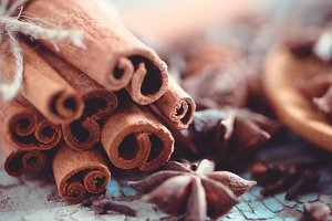 Macro spices # 7