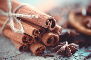 Macro spices # 8