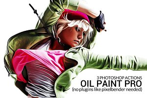 Oil Paint Actions