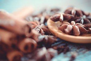 Macro spices # 9
