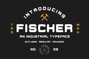 Fischer - An Industrial Typeface