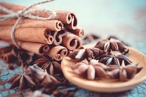 Macro spices # 10