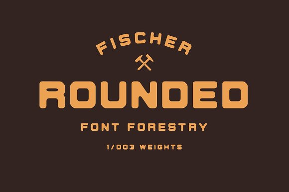 Fischer - An Industrial Typeface in Display Fonts - product preview 6