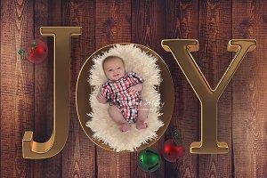 Digital Backdrop Newborn Joy
