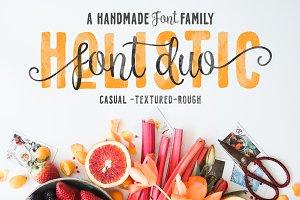 Holistic Font Duo