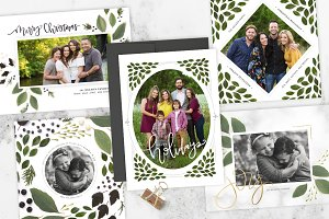 Garland | Christmas Card Budle