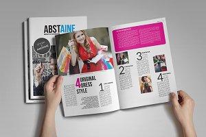 Absolute Stylish Magazine template