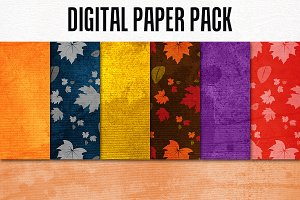 Digital Paper Bundle-Autumn Grace