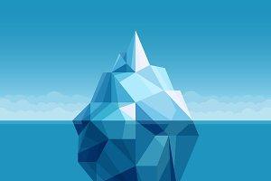Ocean iceberg antarctic landscape