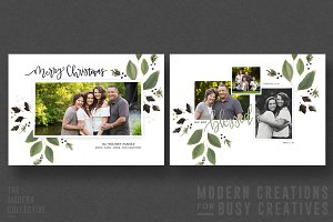 Christmas Card | Merry Garland