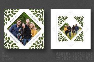 Christmas Card | Diamond Garland