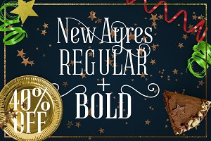 New Ayres REGULAR+BOLD 40%OFF!!