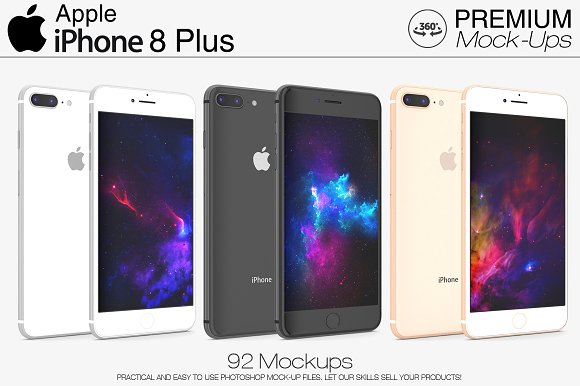 Free iPhone 8 Plus - Gray, Silver & Gold