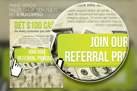 join referral flyer flyer templates creative daddy
