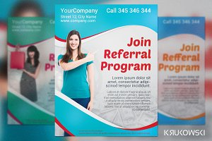 Refferral Program Modern Flyer