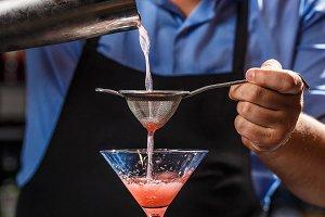Expert barman