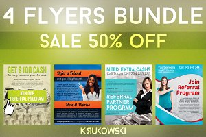 Referral Flyers Bundle