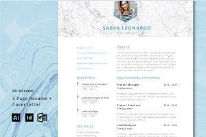 Resume Template 2-Page | Leonardo
