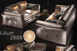 Sofa natuzzi Lilium var